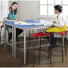 Premium Frame H-Frame Science Lab Table £0 - Education Furniture