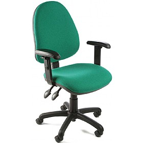 Custom High Back Operator Chairs £69 - Office Chairs