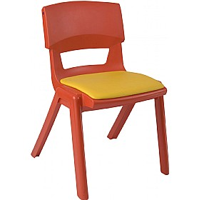 Sebel Postura Plus Classroom Chairs With Seat Pad £42 - Education Furniture
