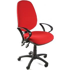 Custom Lumbar Pump Operator Chair £89   Office Chairs