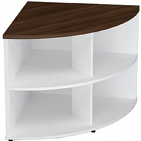 Presence Desk High Corner Bookcase £219 - Office Desks