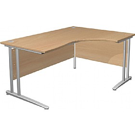 Gravity Standard Ergonomic Cantilever Desk £210 - Office Desks