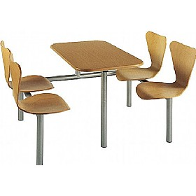 Butterfly Beech Canteen Units £302 - Bistro Furniture
