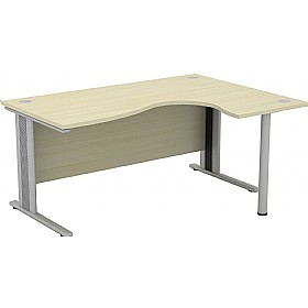 Accolade Aquarius 'S' Ergonomic Desks £308 - Office Desks