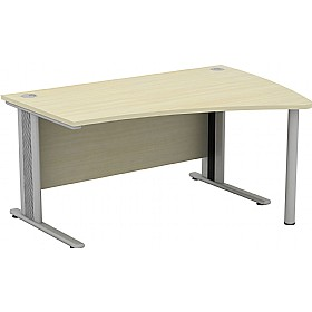 Accolade Contour Ergonomic Desks £334 - Office Desks