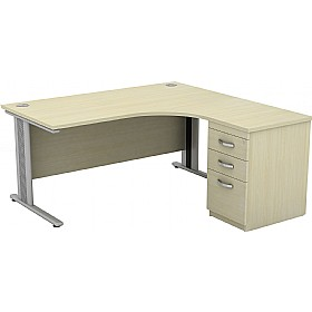 Accolade Ergonomic Combination Desks £418 - Office Desks