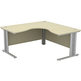 Accolade Stealth Ergonomic Desks £432 - Office Desks