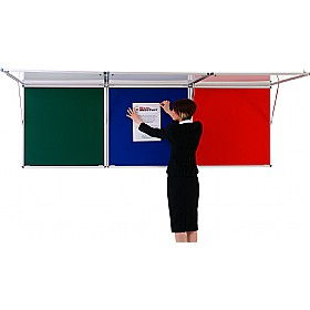 Blazemaster Corridor Tamperproof Noticeboards £132 - Display/Presentation