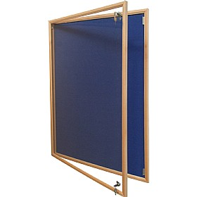 Eco Wood Frame Tamperproof Noticeboards £91 - Display/Presentation