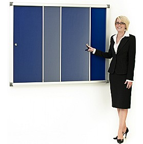 Province Acrylic Sliding Door Tamperproof Noticeboards £169 - Display/Presentation