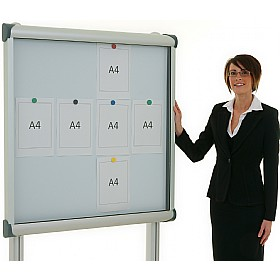 Province Post Mounted Tamperproof External Noticeboards £420 - Display/Presentation