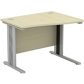 Accolade Wave Return Desk £208 - Office Desks