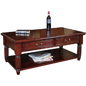 Argento Solid Mahogany Coffee Table £424 - Reception Furniture
