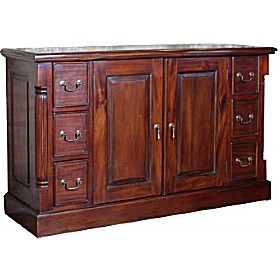 Argento Solid Mahogany Sideboard £670 - Home Office Furniture
