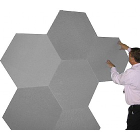 Sundeala K Quality Hexagonal Noticeboard £29 - Display/Presentation