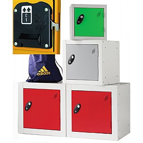 Cube Coin Return Lockers With ActiveCoat £0 - Education Furniture
