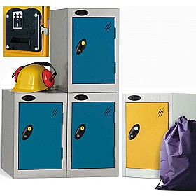 Quarto Coin Return Lockers With ActiveCoat £57 - Education Furniture