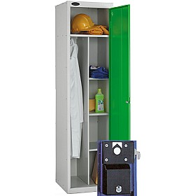Uniform Coin Retain Lockers With ActiveCoat £194 - Education Furniture