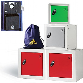 Cube Coin Retain Lockers With ActiveCoat £0 - Education Furniture