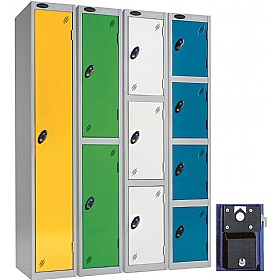 Premium Coin Retain Lockers With Activecoat £134 - Education Furniture