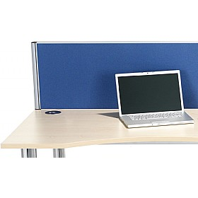 Accolade Executive Rectangular Desk Screens £0 - Office Screens