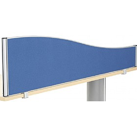 Accolade Executive Wave Desk Screens £0 - Office Screens
