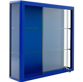 Wall Mounted Glass Display Cabinet with Sliding Door £677 -