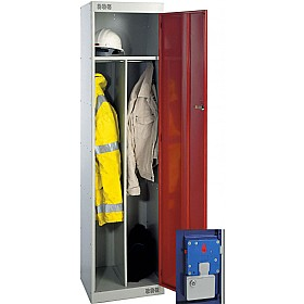 Clean & Dirty Coin Retain Locker With Biocote £0 - Education Furniture