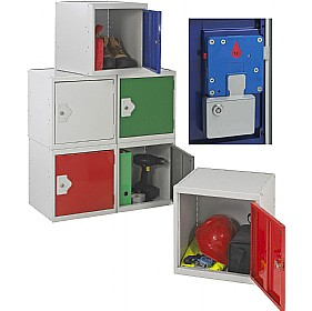 Cube Coin Retain Lockers With BioCote £0 - Education Furniture