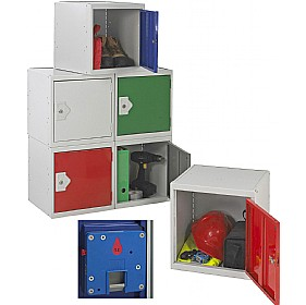 Cube Coin Return Lockers With BioCote £0 - Education Furniture