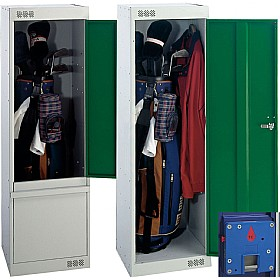 Golf Coin Return Locker With Biocote £0 - Education Furniture