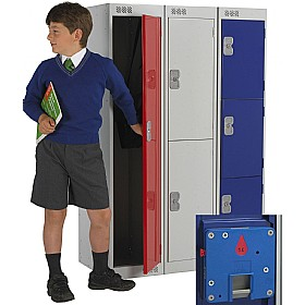 Primary Coin Return Lockers With Biocote £0 - Education Furniture