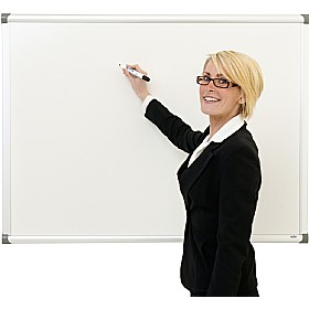 Province Aluminium Frame Non Magnetic Drywipe Board £26 - Display/Presentation