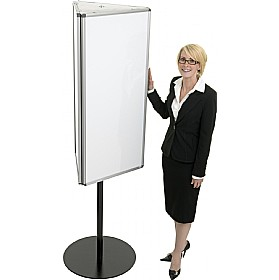Rotating Dry Wipe Call Centre Triple Board £400 - Display/Presentation
