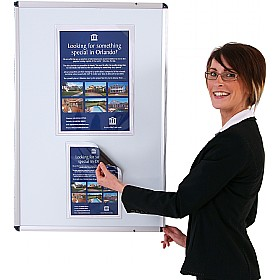 Magnetic Clear Pocket Leaflet Holder £6 - Display/Presentation