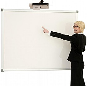 Province Dry Wipe Non-Magnetic Projector Screen/Board £192 - Display/Presentation