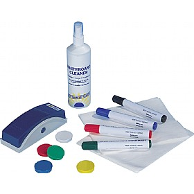 Deluxe Magnetic Dry Wipe Starter Kit £18 - Display/Presentation