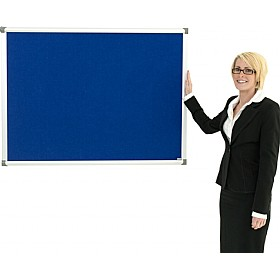 Colony Aluminium Framed Felt Noticeboard £25 - Display/Presentation
