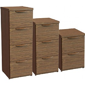 Sven Fulcrum Accent Real Wood Veneer Filing Cabinets £1333 - Office Desks