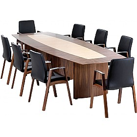 Condor Executive Veneer Boardroom Table £3456 - Meeting Room Furniture