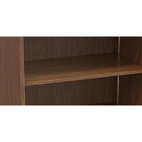 Sven Fulcrum Accent Real Wood Veneer Shelves £0 - Posh Office Furniture