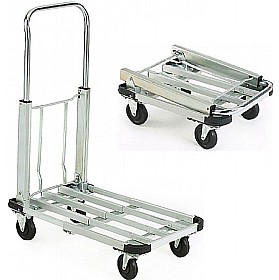 Aluminium Folding Platform Trolley £71 - Premises Management