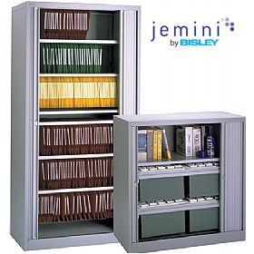 NEXT DAY Jemini By Bisley Tambour Cupboards £243 - Office Cupboards