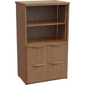 Sven Fulcrum Accent Real Wood Veneer Drawer Combination Unit £1804 - Office Desks