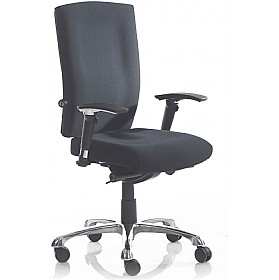 Mica 24Hr Fabric Medium Back Task Chair £180 - Office Chairs