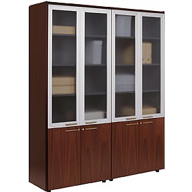 Andorra Real Wood Veneer Combination Cupboards £2278 - Office Desks