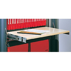 Sven Fulcrum Accent Roll Out Reference Shelf £148 - Office Desks
