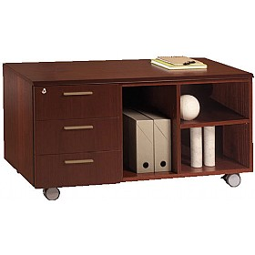 Andorra Real Wood Veneer Mobile Storage Unit £1753 - Office Desks