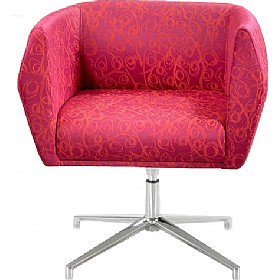 Sven HB1A 4 Star Base Fabric Reception Chairs £429 - Reception Furniture