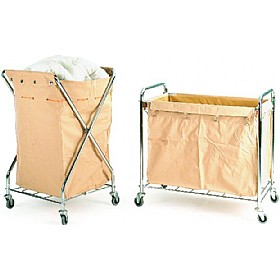 Canvas Laundry Trolley £140 - Premises Management